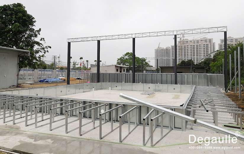 钢结构游泳池